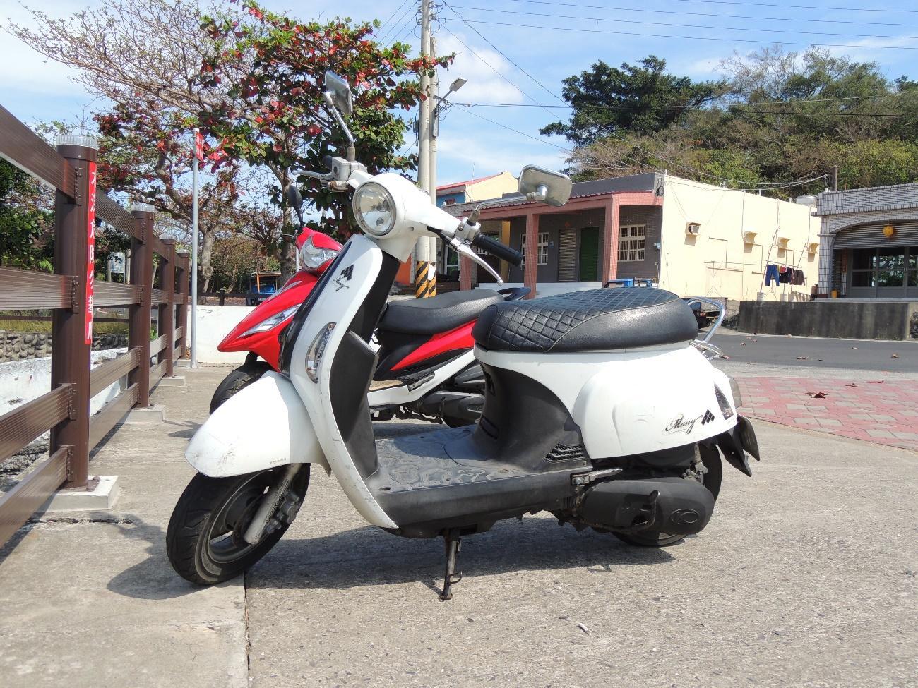 小琉球のレンタルバイク