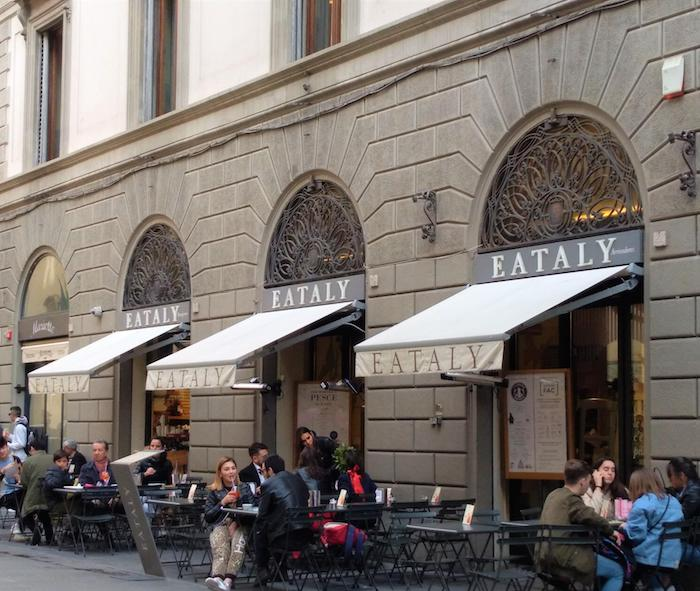 フィレンツェ・EATALY(イータリー)/飲食スペース