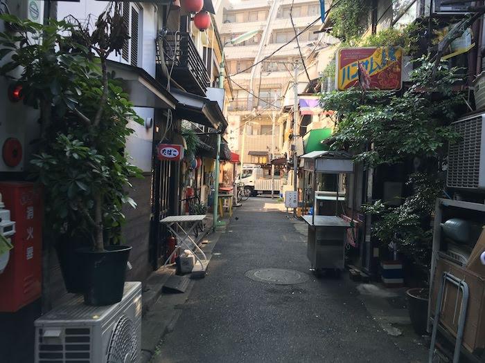 はつねの場所:西荻窪駅・南口 徒歩1分の飲み屋街