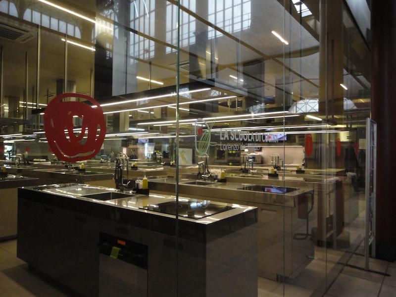 フィレンツェ中央市場の料理教室