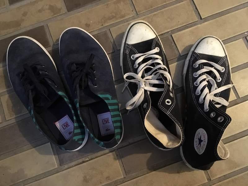 靴・スニーカー:世界一周準備・持ち物