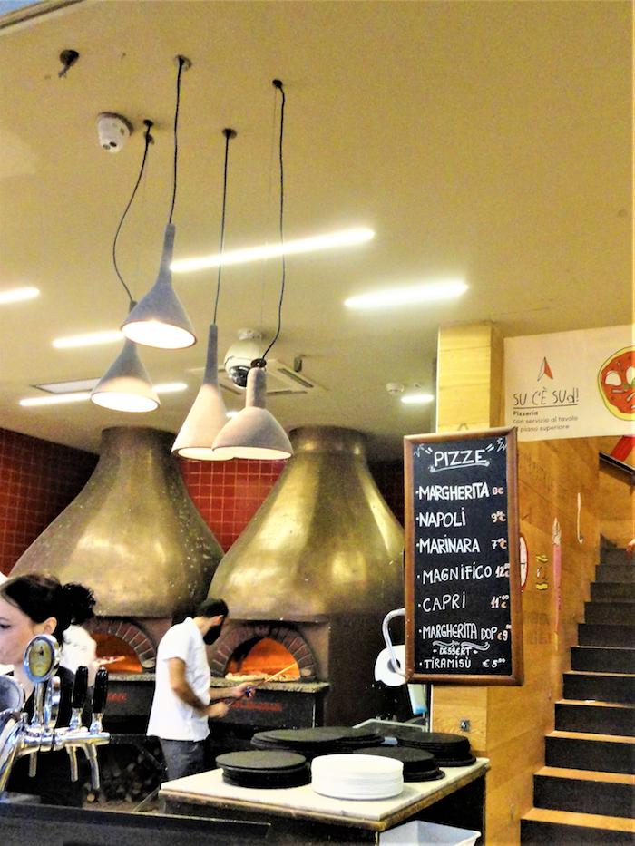 フィレンツェ中央市場・ピザ(La Pizzeria by Marco Fierro)メニュー