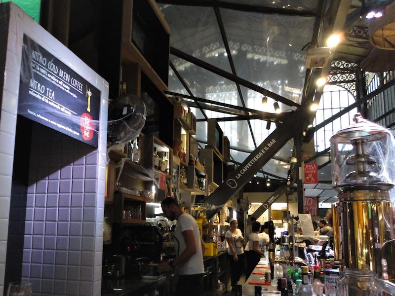 フィレンツェ中央市場・バール/カフェテリア