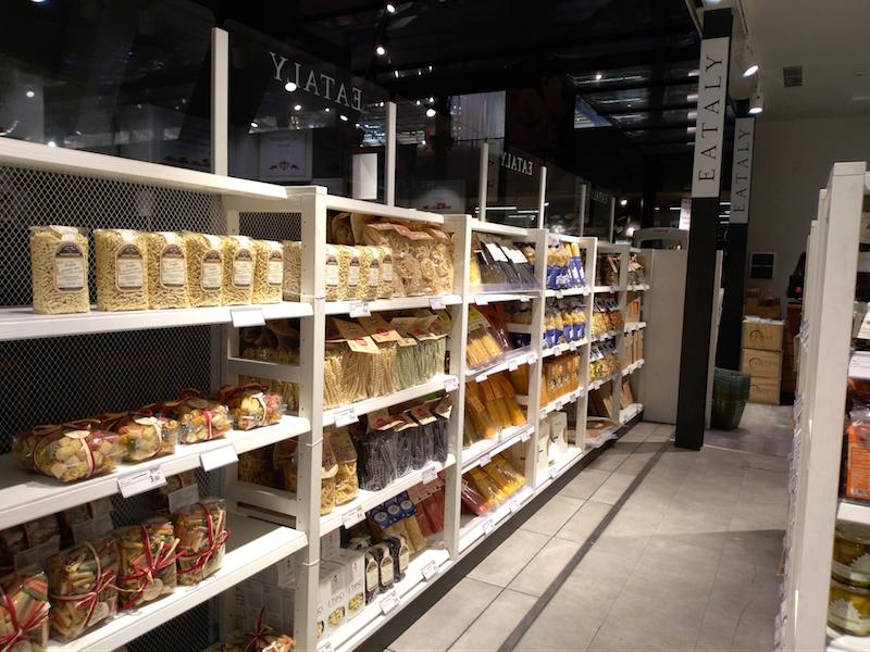 フィレンツェ中央市場EATALY・パスタ