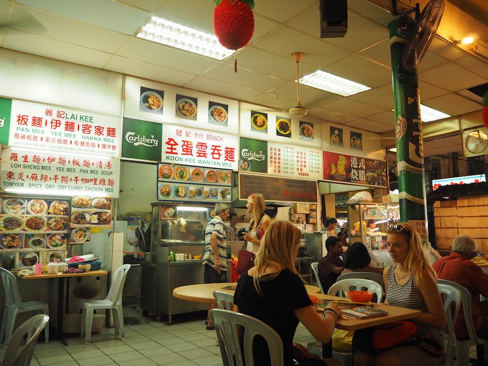 マレーシア・クアラルンプールのグルメ:中華街飲食店