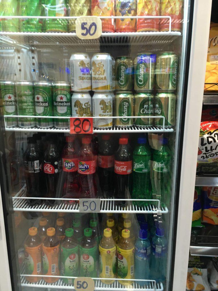 タイのビール(チャーン・シンハーなど)のお土産(出国前/後)
