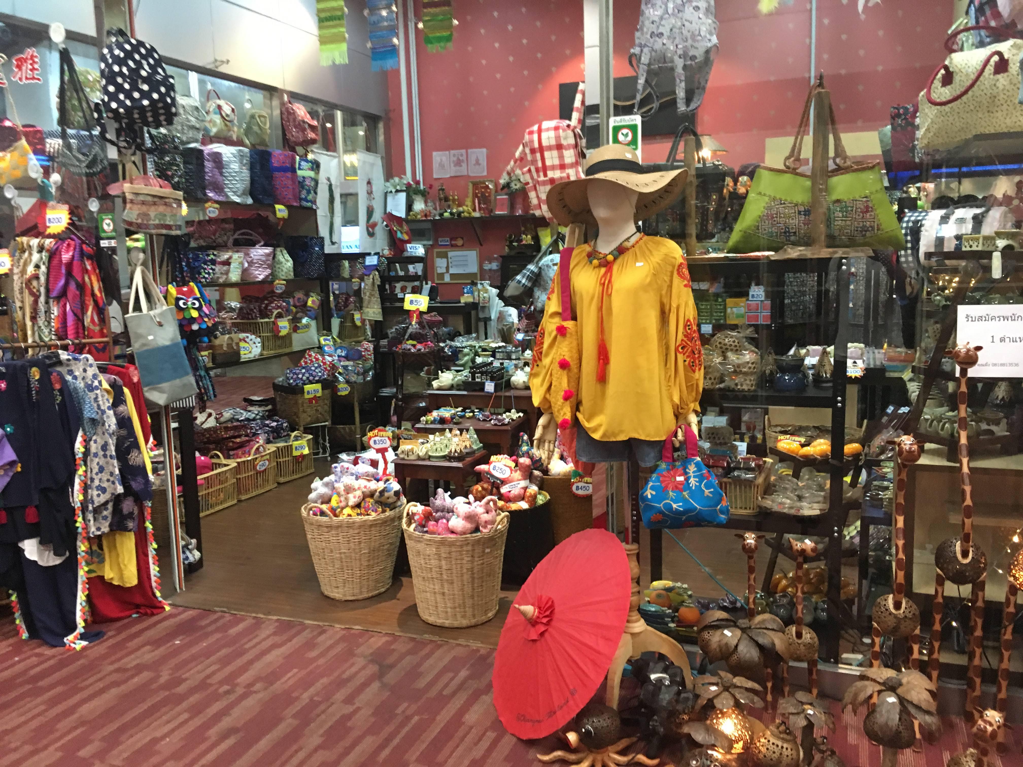 チェンマイ空港でお土産を買える店・場所: 雑貨屋 出国後