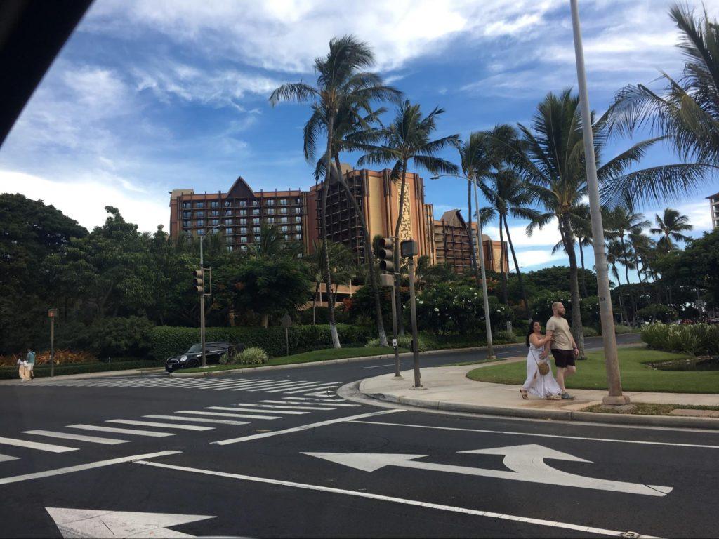 ハワイ・コオリナの街の様子