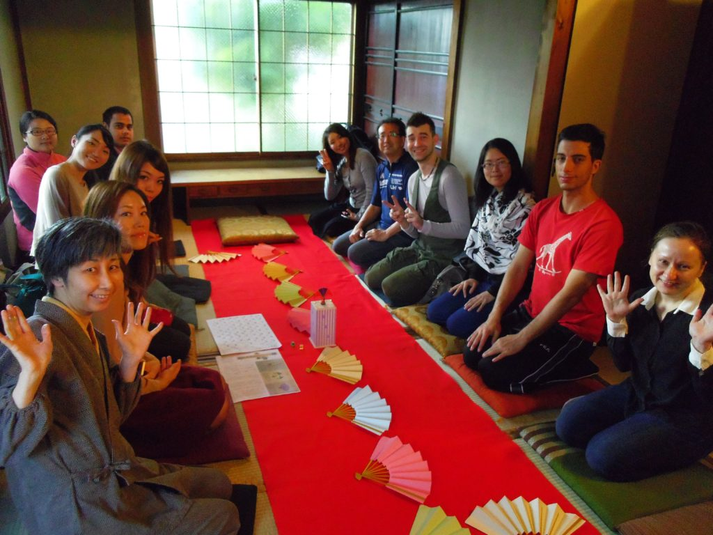 Japanizeイベント:投扇興体験