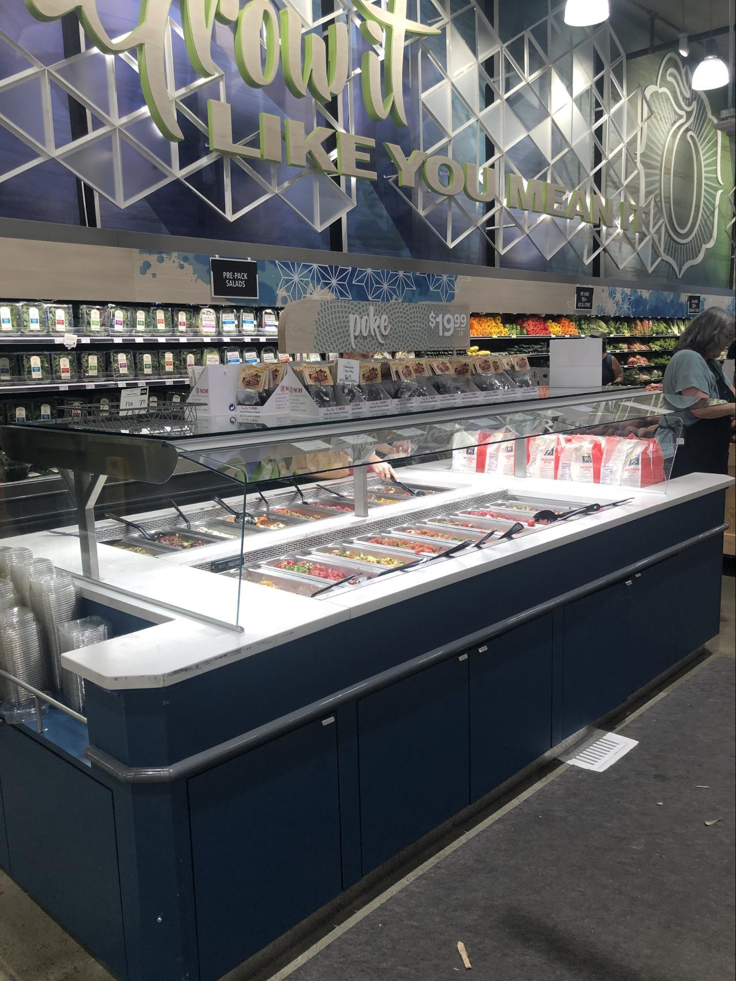 ハワイ・ホールフーズの飲食店/フードコートグルメ・ポケバー