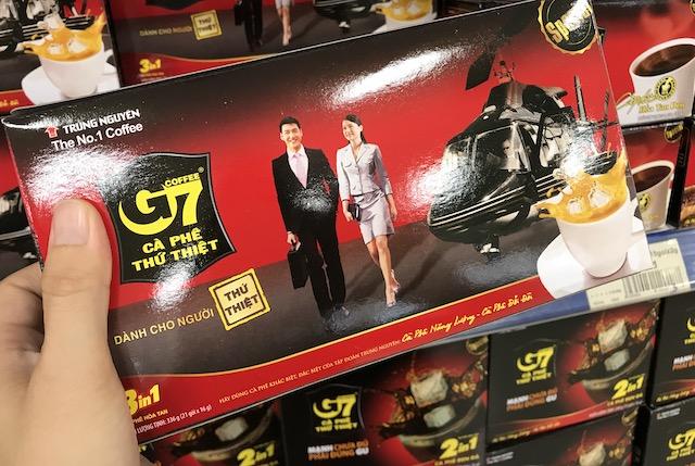 ベトナムコーヒーのお土産・G7のインスタントコーヒー
