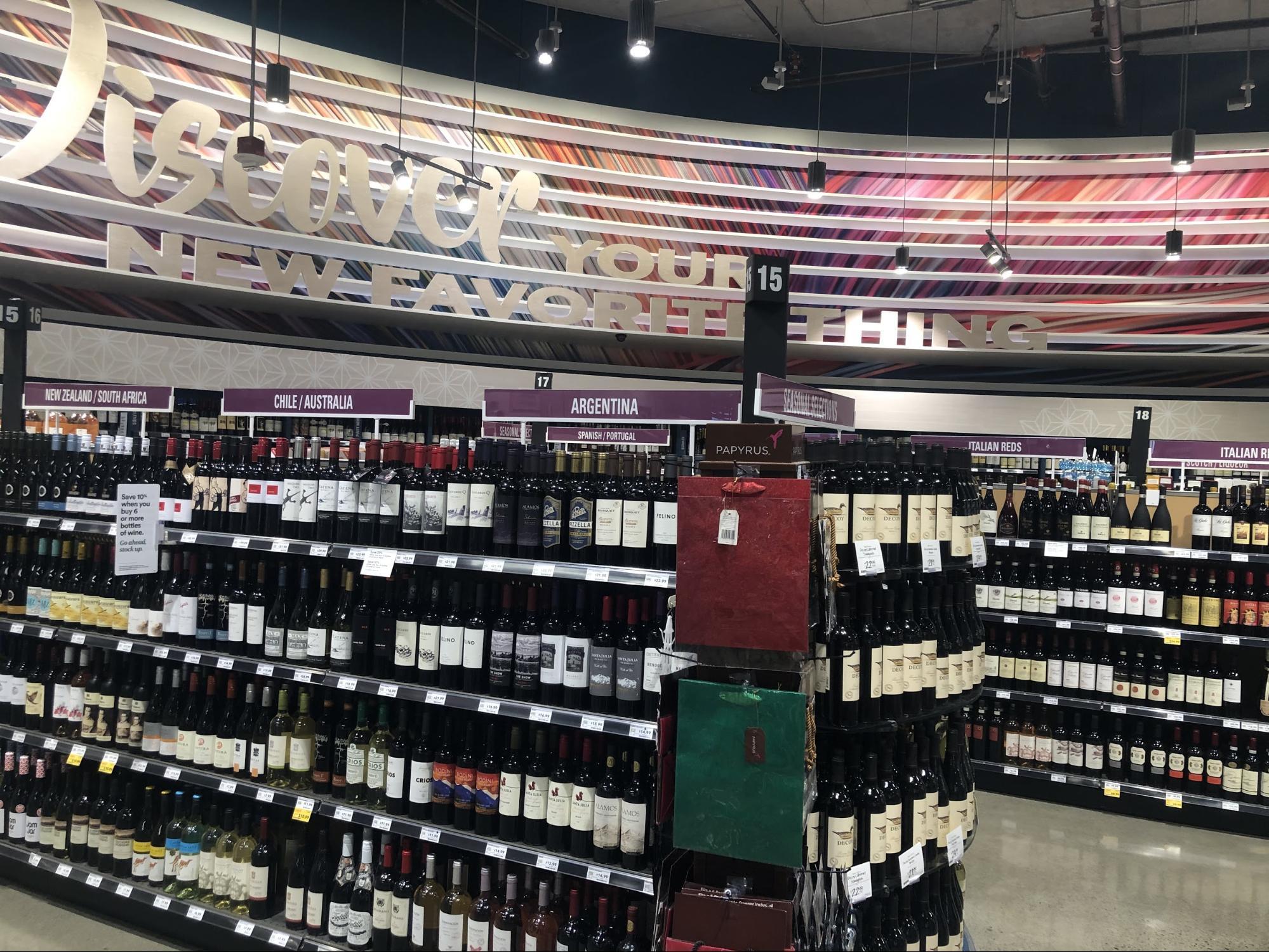 ハワイ・ホールフーズのお土産(食べ物・飲み物)・ワイン