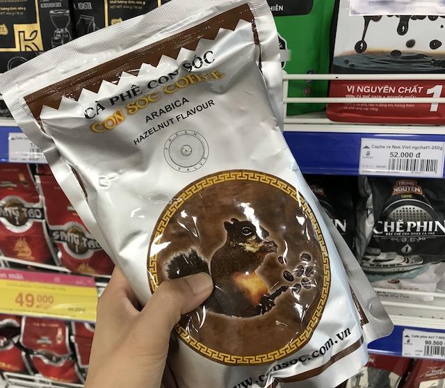 ベトナムコーヒー・CON SOC COFFEE(リスの糞コーヒー)