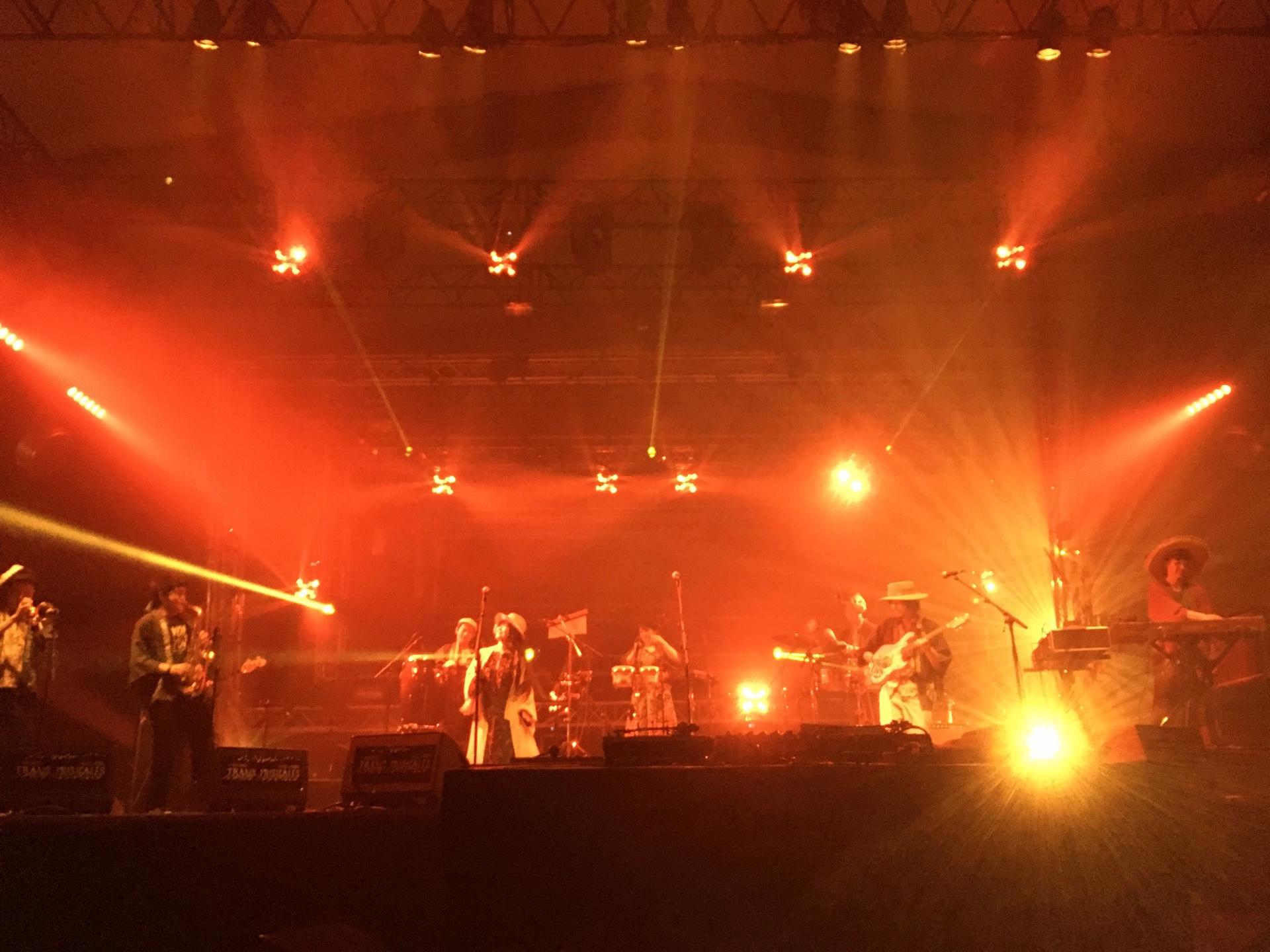 フランス・レンヌのTrans Musicales・フェスステージ