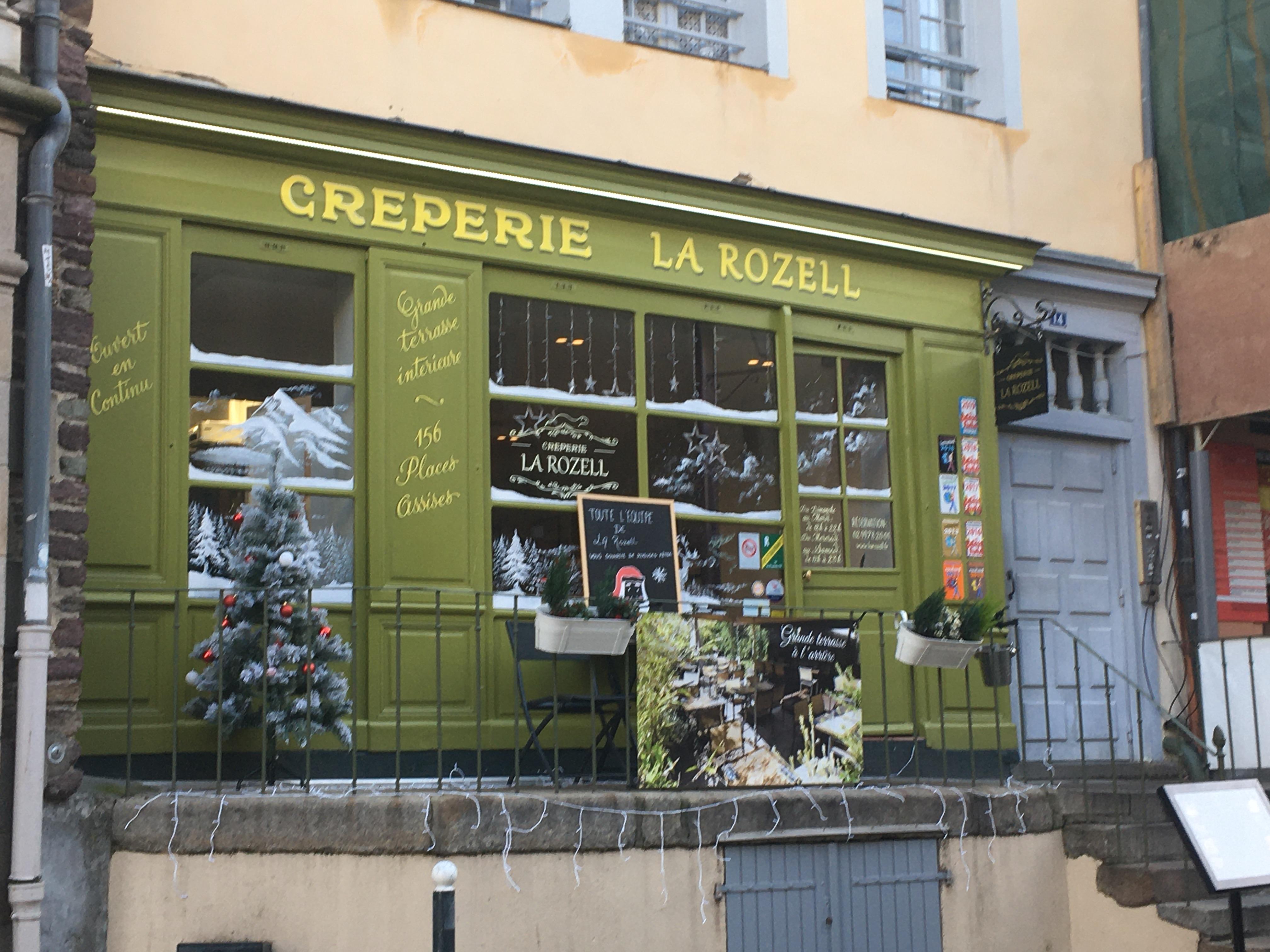 フランス・レンヌ/ガレットのお店