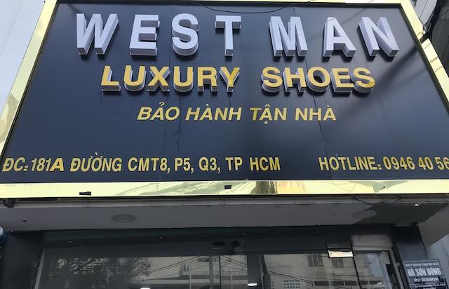 ベトナム・ホーチミンでお土産を買える場所・お店:オーダーメードのお店・WEST MAN