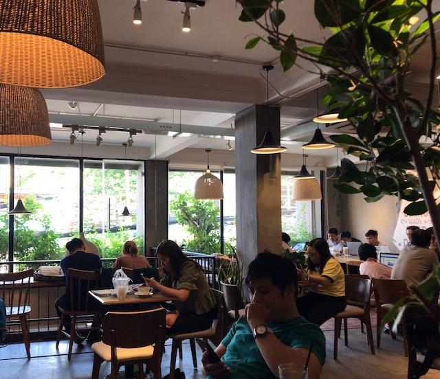 ホーチミンのカフェ・若い人が好きそうなおしゃれなカフェ