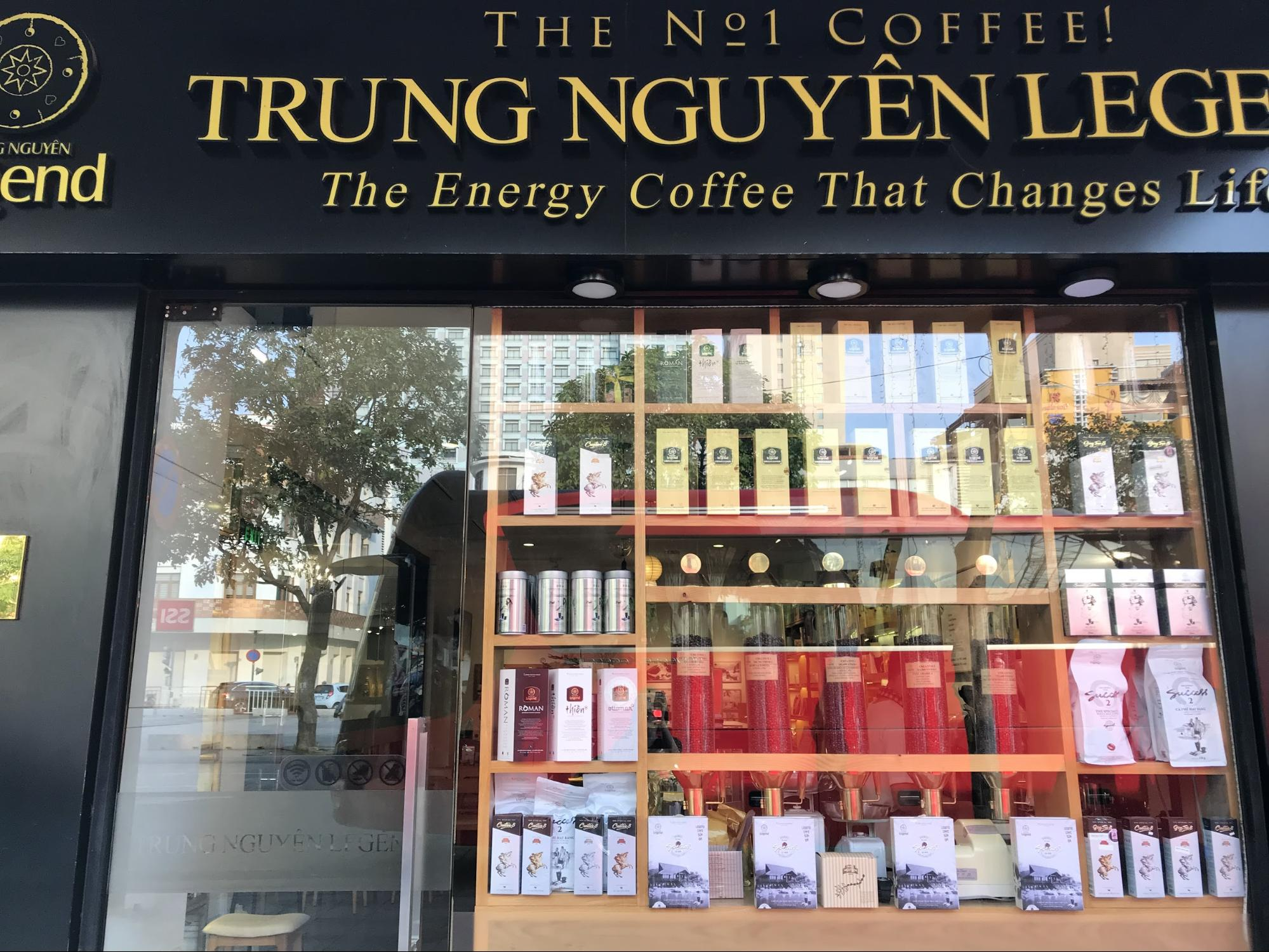ベトナム・ホーチミンのお土産:コーヒーチェーン店