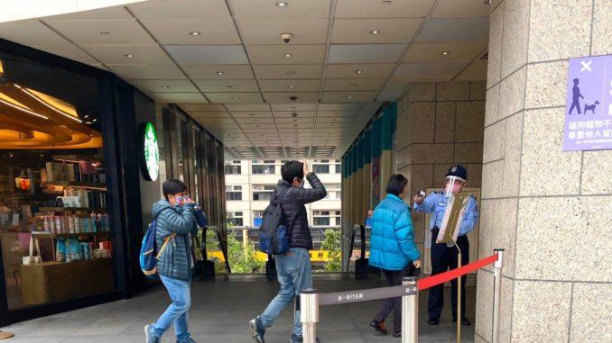 台湾・4月2日・施設でのコロナウイルス対策
