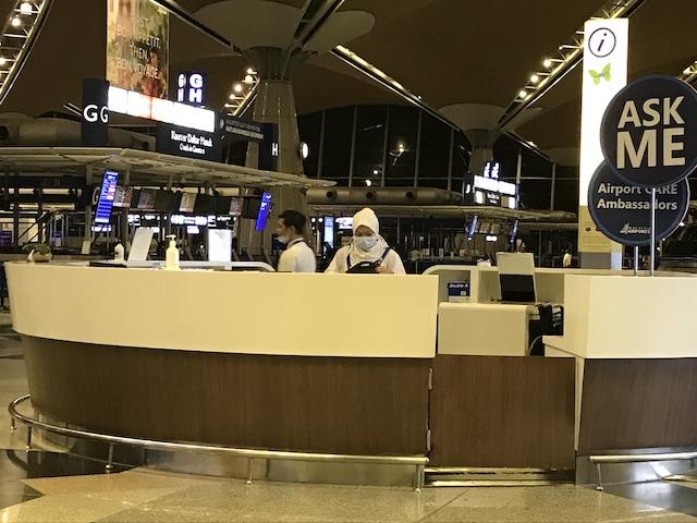 コロナウイルス状況下のマレーシア:職員もコロナ対策を意識している?
