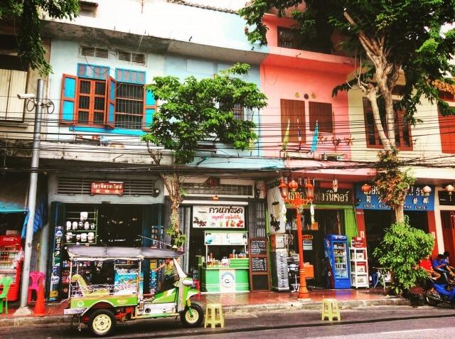 スマホでバンコクの現地情報を収集