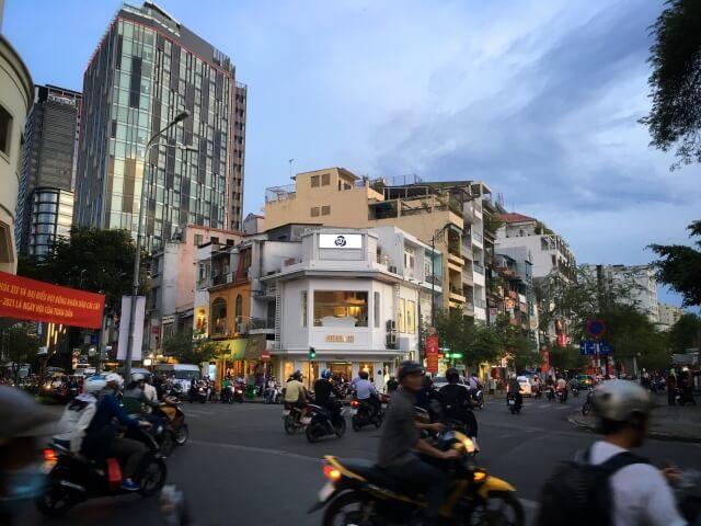 ベトナム・ホーチミンのレンタルバイク