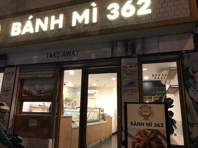 ホーチミン・BANH MI 362:バインミーのお店