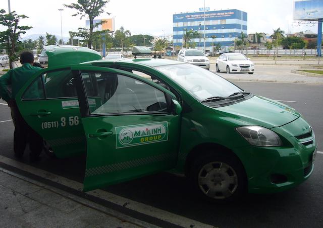 ホーチミン市内のタクシー