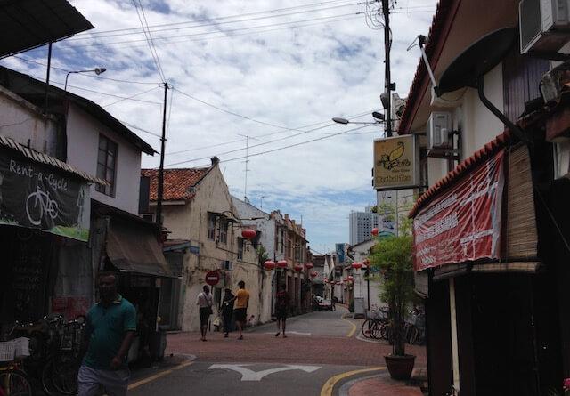 マレーシア・マラッカ旧市街の街歩き