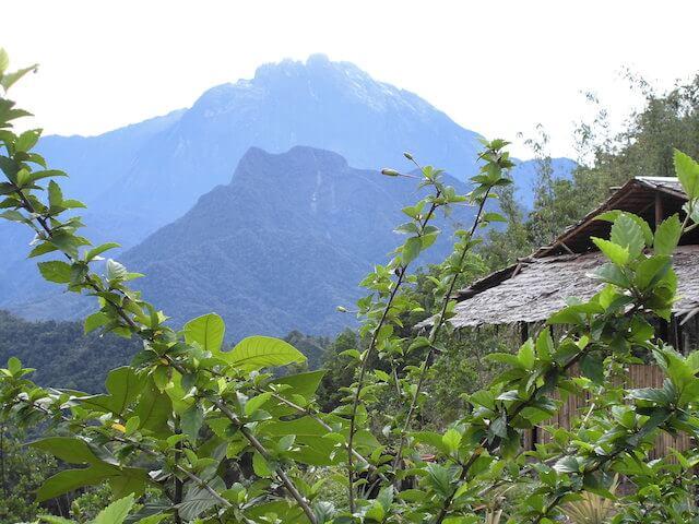 キナバル山を登山する